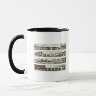 Passengers and freight the first French line Mug