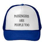 Passengers are People Travel Slogan Hats