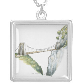 Passerelle Silver Plated Necklace