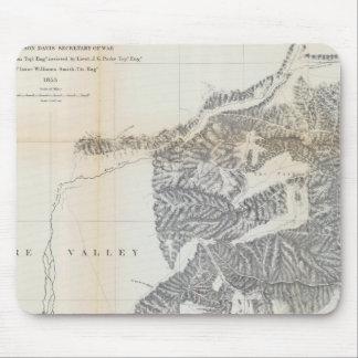 Passes, Sierra Nevada, Walker's Pass Coast Range Mouse Pad