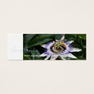 Passiflora 1 Floral Photography Mini Business Card