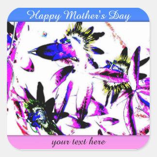 Passiflora Porcelain Floral Pattern Sticker