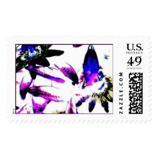 Passiflora Porcelain Flower - Postage Stamp Large