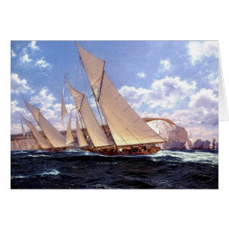 Passing Needles to starboard Card