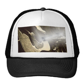PASSING OF A GUITAR PICKER TRUCKER HAT