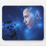 Passing of the Torch, John F. Kennedy Barack Obama Mouse Pad