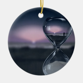 Passing of Time Ceramic Ornament