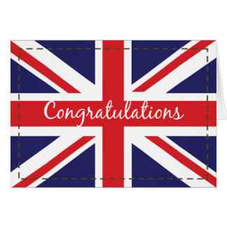 Passing Out, British Army Flag Congratulations Card
