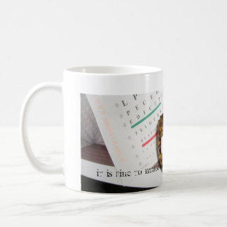Passing Spectacles Classic White Coffee Mug