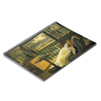 Passing Storm 1876 Spiral Notebook