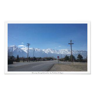"""Passing Through Paradise,"" Sierra Nevada Nature Photo Print"