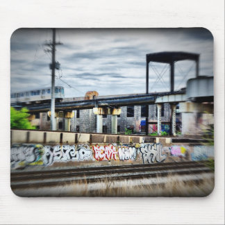 Passing Train Mouse Pad