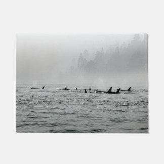 Passing Whales Doormat