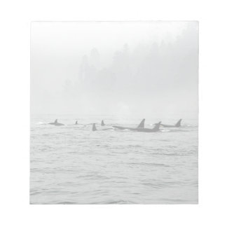 Passing Whales Notepad