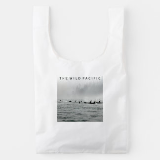 Passing Whales Reusable Bag