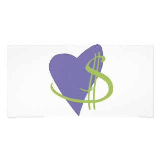 Passion2Pension Heart Picture Card