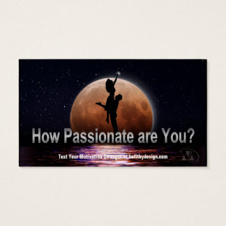 Passion-21 Day Perspective Challenge Business Card