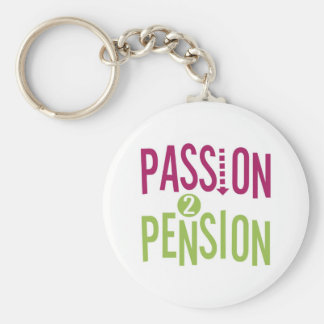 Passion 2 Pension Keychain