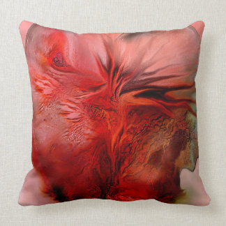 Passion Abstract Art Designer Pillow