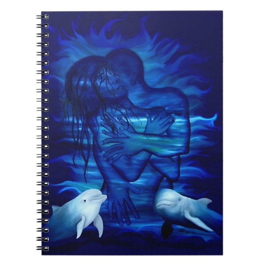 Passion act - pair with Dolphin pair Notebook