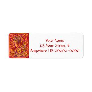 Passion and Magic Custom Return Address Label