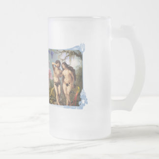 Passion blue shirts Art Decor Artwork 16 Oz Frosted Glass Beer Mug