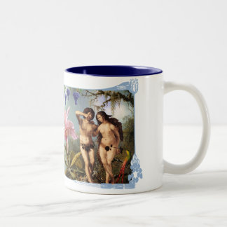 Passion blue shirts Art Decor Artwork Two-Tone Coffee Mug