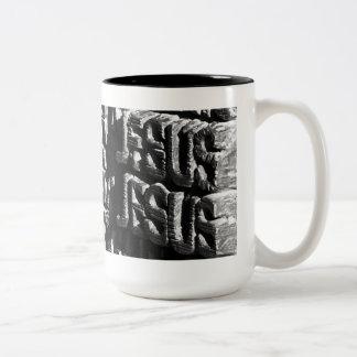 Passion Facade Mug (in black)