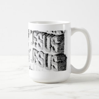 Passion Facade Mug (in white)