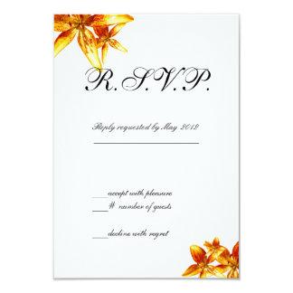 Passion Flower 3.5x5 Paper Invitation Card