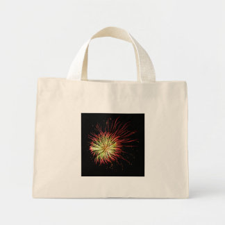 Passion Flower Abstract Fireworks Photo Tiny Tote