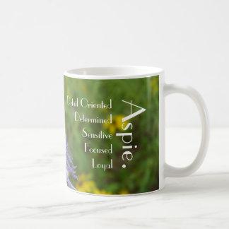 Passion Flower Aspie Mug