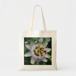 Passion Flower Budget Tote Bag