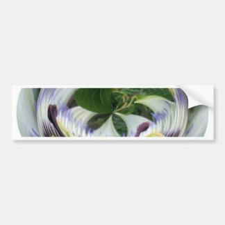 Passion Flower Bumper Stickers