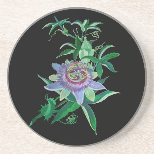 Passion Flower Coaster