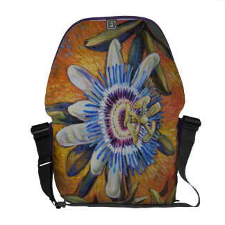 Passion Flower Courier Bags