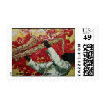 Passion Flower, mcraystudios.com Postage Stamp