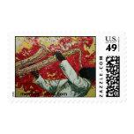 Passion Flower, mcraystudios.com Postage Stamp