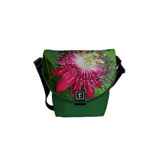 Passion Flower Mini Messenger Bag