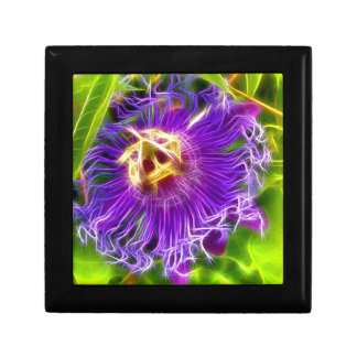 Passion flower or Lilikoi Jewelry Box