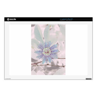 "Passion Flower Pink 17"" Laptop Skins"