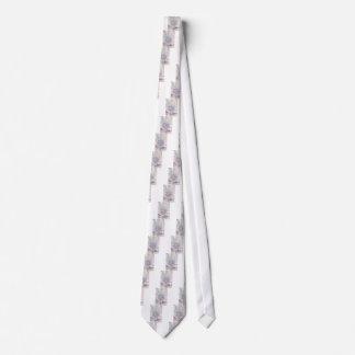 Passion Flower Pink Neck Tie