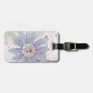Passion Flower Pink Tag For Luggage
