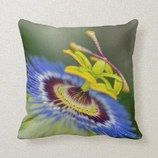 Passion Flower Throw Pillow Home Decor
