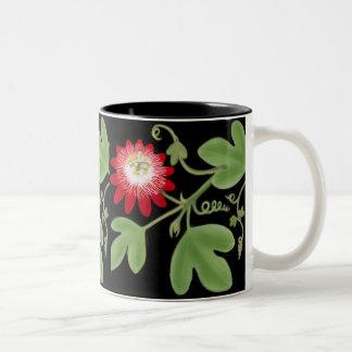 Passion Flower Vines Mug