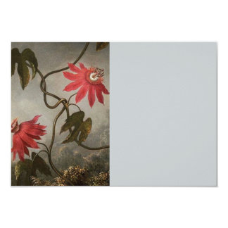 Passion Flowers 3.5x5 Paper Invitation Card
