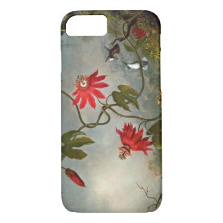 Passion Flowers and Hummingbirds 1870 iPhone 8/7 Case
