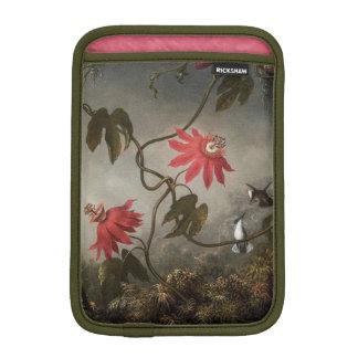 Passion Flowers and Hummingbirds iPad Mini Sleeve
