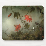Passion Flowers and Hummingbirds Mouse Pad