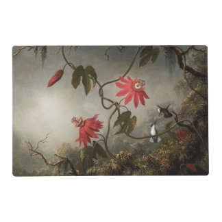 Passion Flowers and Hummingbirds Placemat